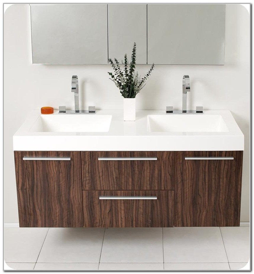 Home Depot Double Sink Bathroom Cabinet
