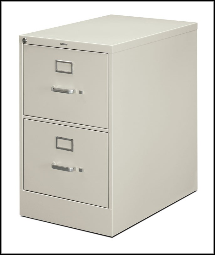 Hon 2 Drawer File Cabinet