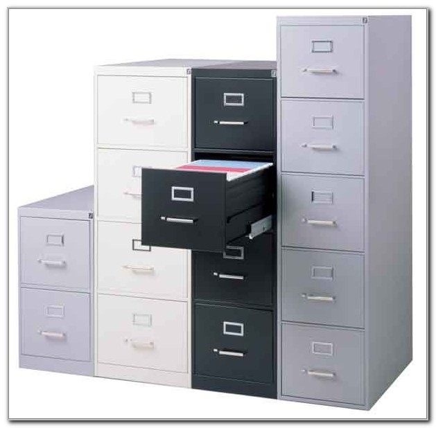 Hon 4 Drawer Legal File Cabinet