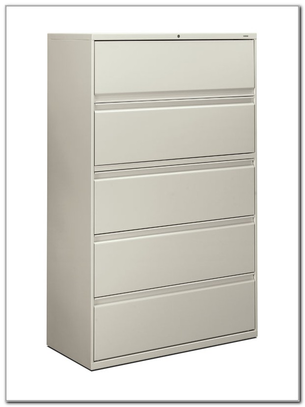 Hon 42 5 Drawer Lateral File Cabinet