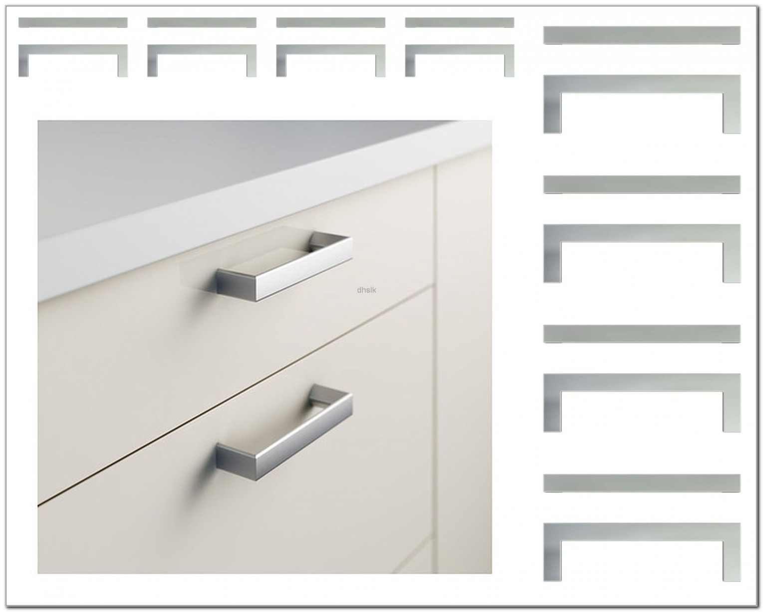 Ikea Stainless Steel Cabinet Pulls