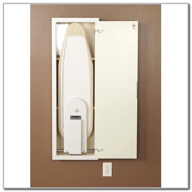 In Wall Ironing Board Cabinet