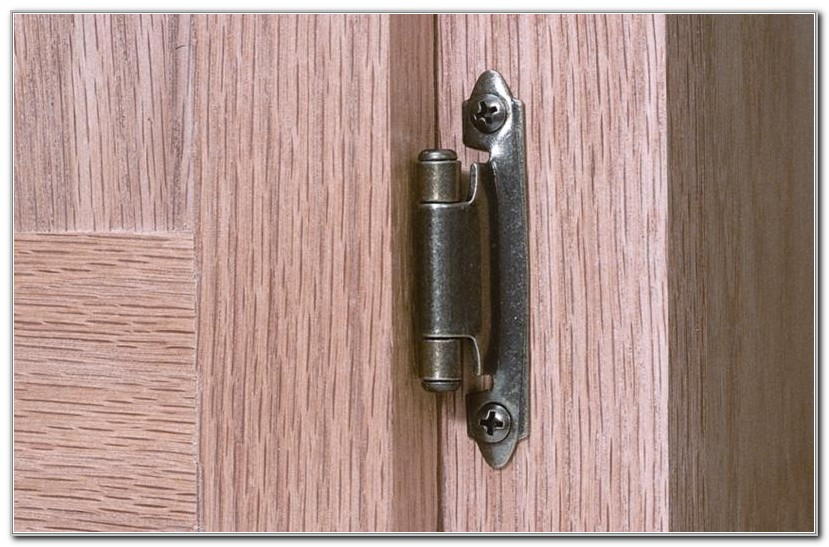 Install European Cabinet Hinges