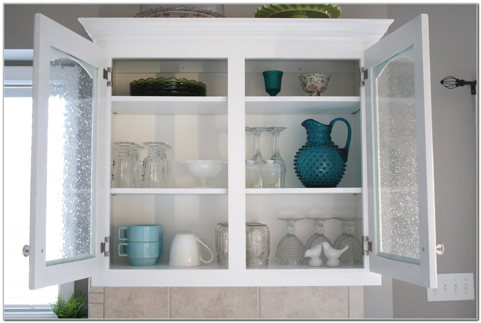 Kitchen Cabinet Glass Shelf Supports