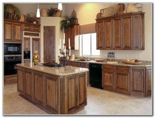 Kitchen Cabinet Stain Ideas