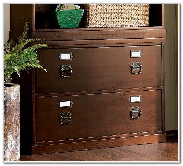 Lateral File Cabinet Pottery Barn
