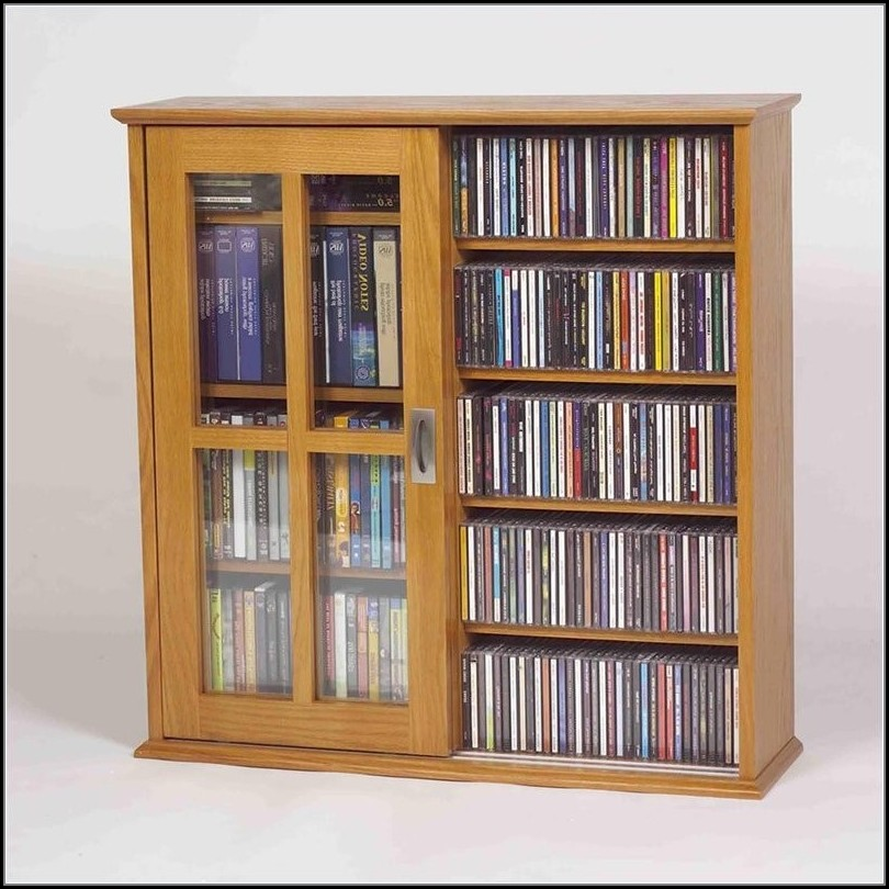 Leslie Dame Sliding Door Media Cabinet