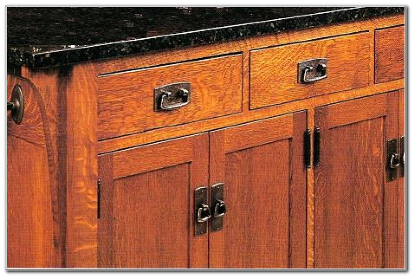 Mission Style Cabinet Pulls