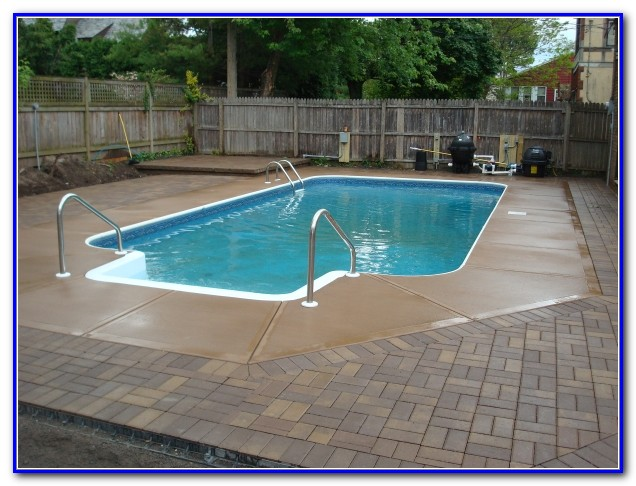 Pool Deck Pavers Vs Concrete