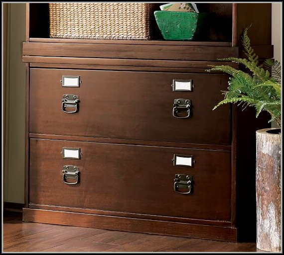 Pottery Barn Lateral File Cabinet