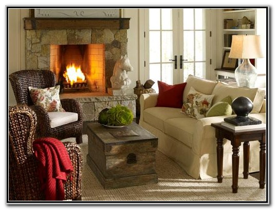 Pottery Barn Living Room Pinterest