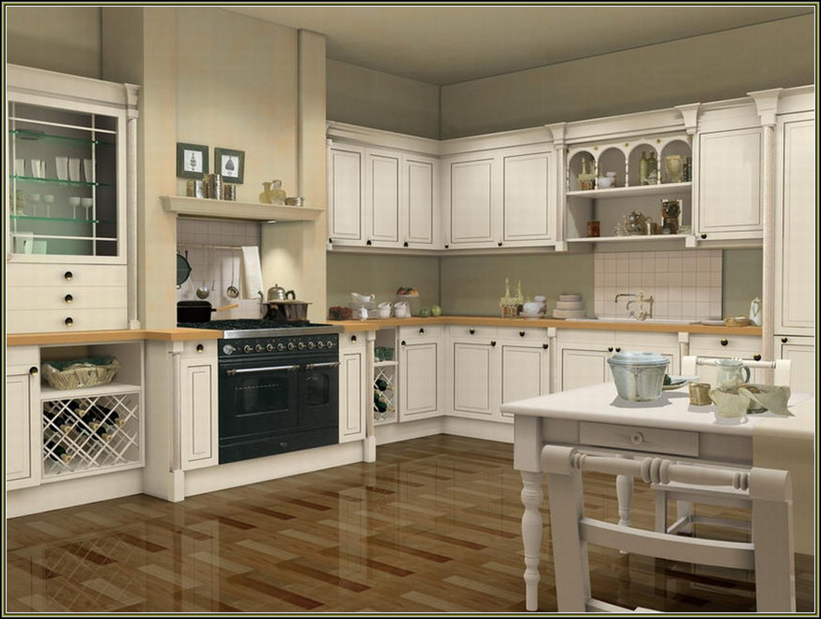 Pre Assembled Kitchen Cabinets Canada