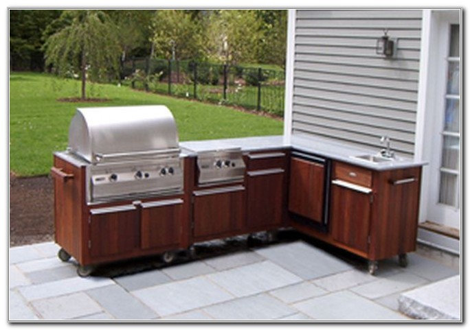 Prefab Outdoor Kitchen Cabinets