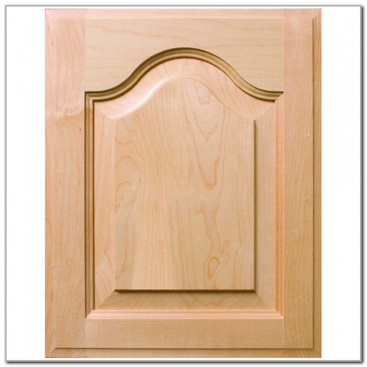 Raised Panel Cathedral Cabinet Doors