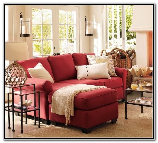 Red Sofa Living Room Pinterest