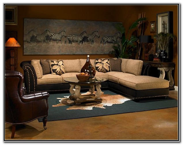 Safari Themed Living Room Decor