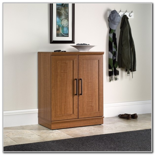 Sauder Homeplus Base Cabinet Sienna Oak Finish