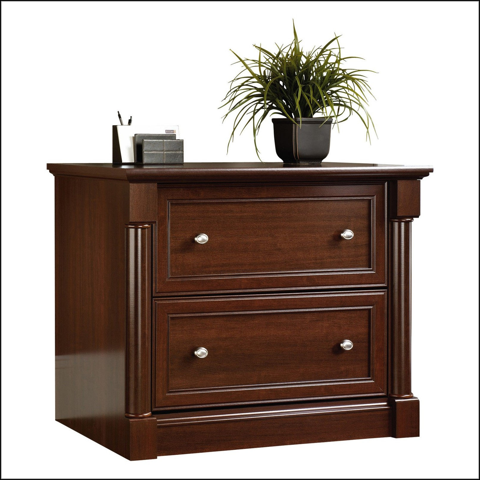 Sauder Lateral File Cabinet Cherry