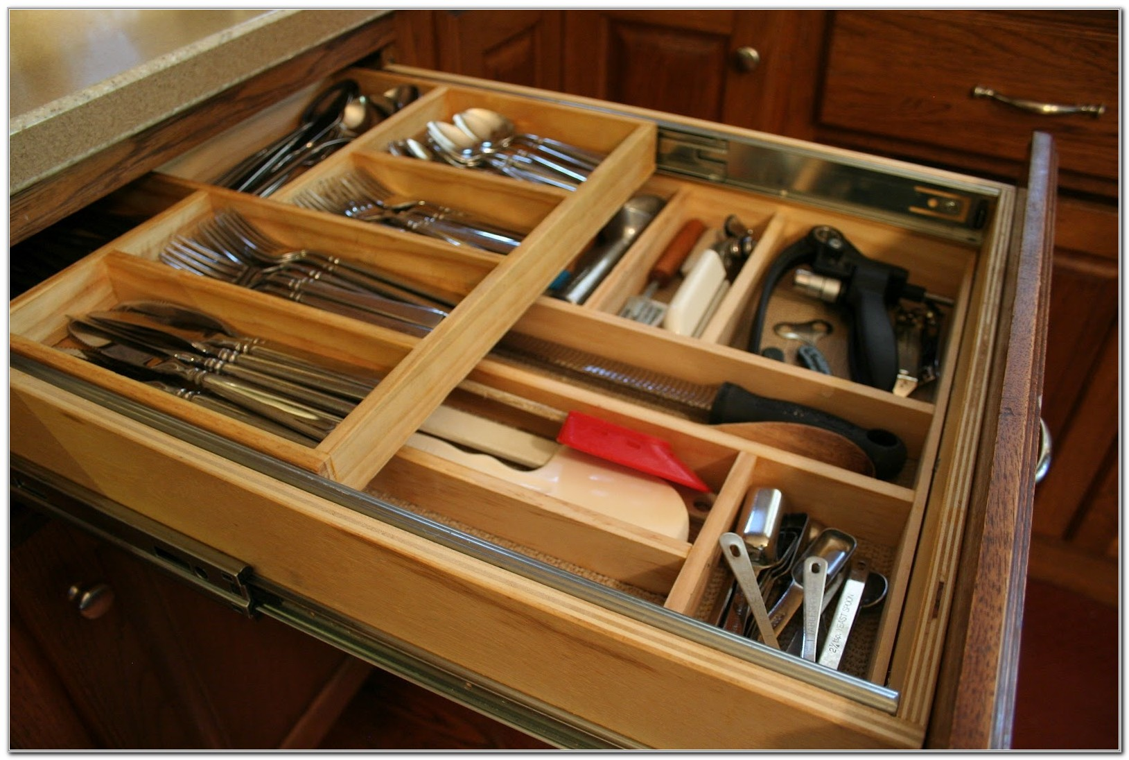 Sliding Organizers For Kitchen Cabinets