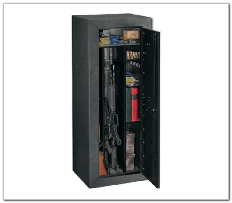 Tactical Security Cabinet With Convertible Interior
