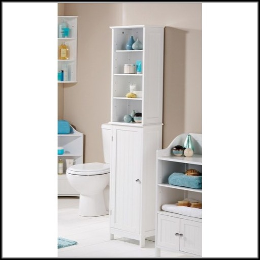 Tall Bathroom Storage Cabinets White