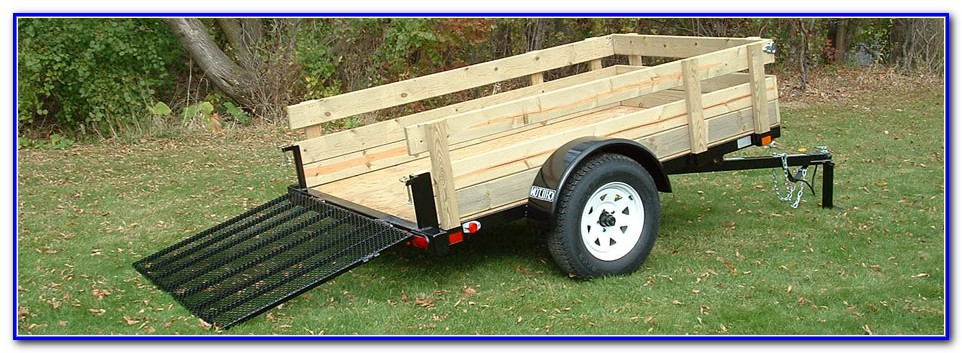 Utility Trailer Decking Material