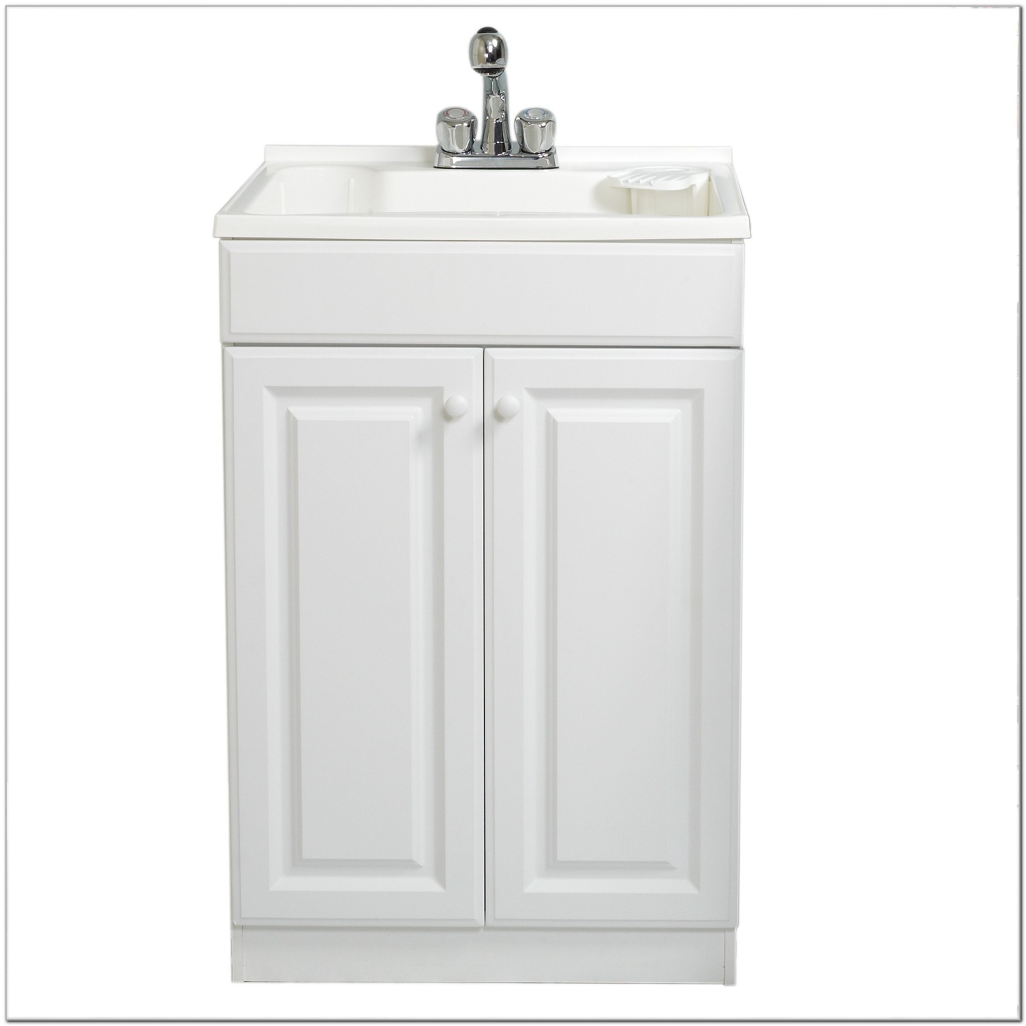 Utility Tub With Cabinet