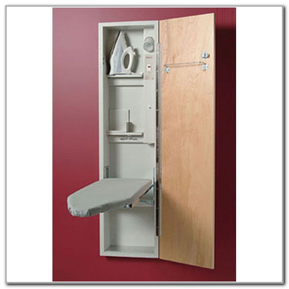 Wall Ironing Board Cabinet