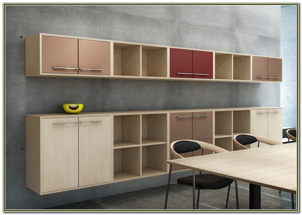 Wall Mounted Office Storage Cabinets