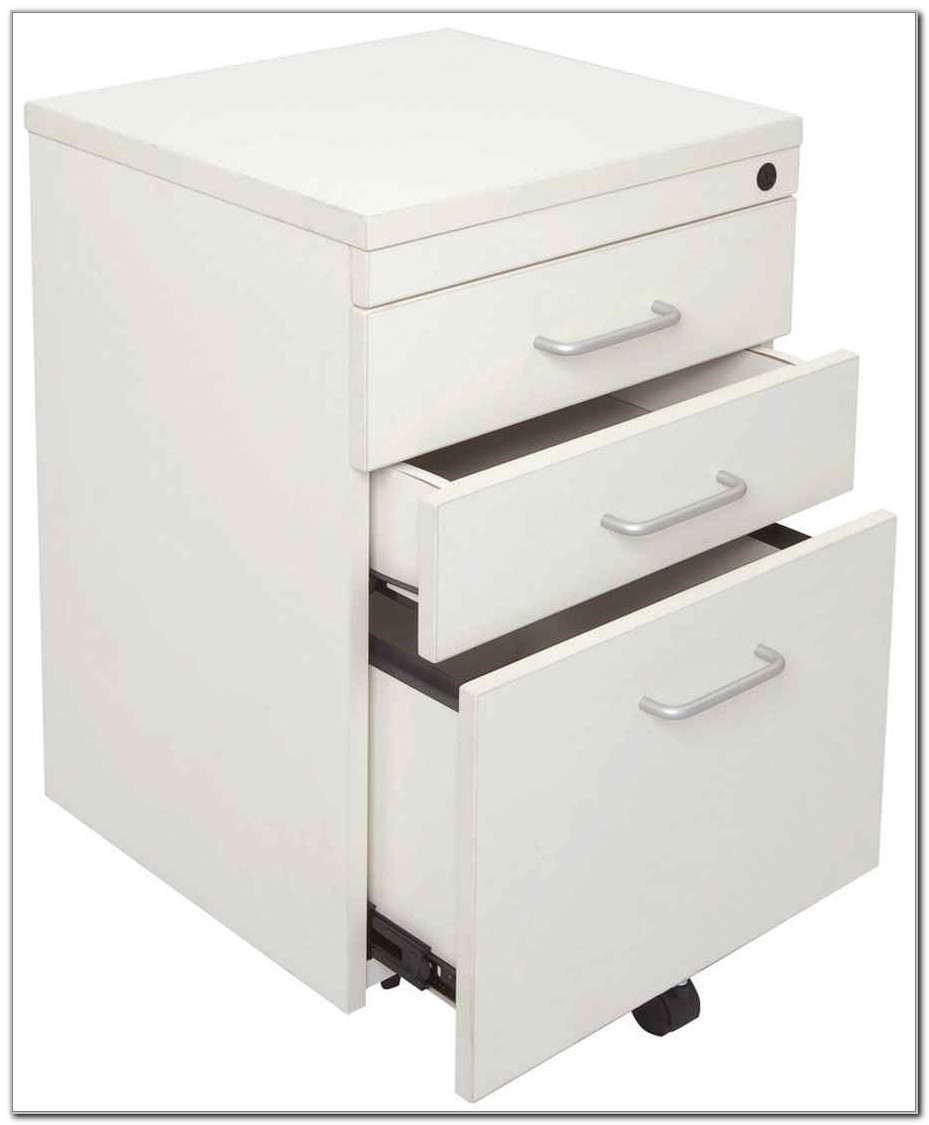 White Filing Cabinets On Wheels