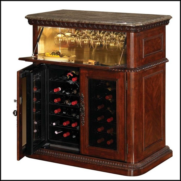 Wine Cabinet With Built In Cooler