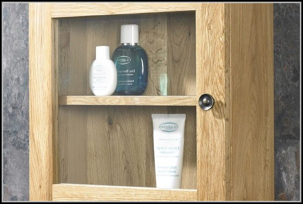 Wood Bathroom Wall Cabinets