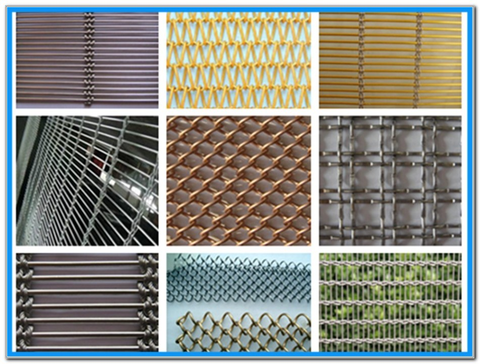 Woven Wire Mesh For Cabinet Doors
