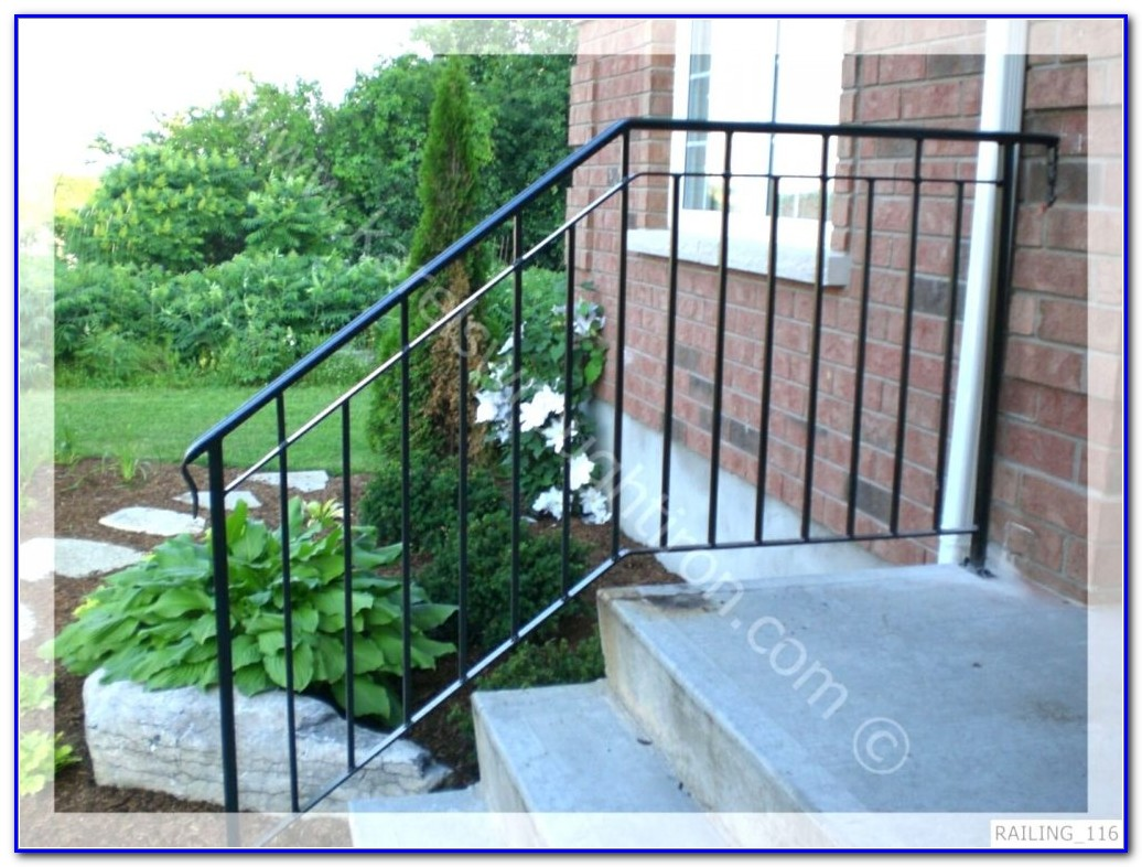 Wrought Iron Deck Railings Home Depot