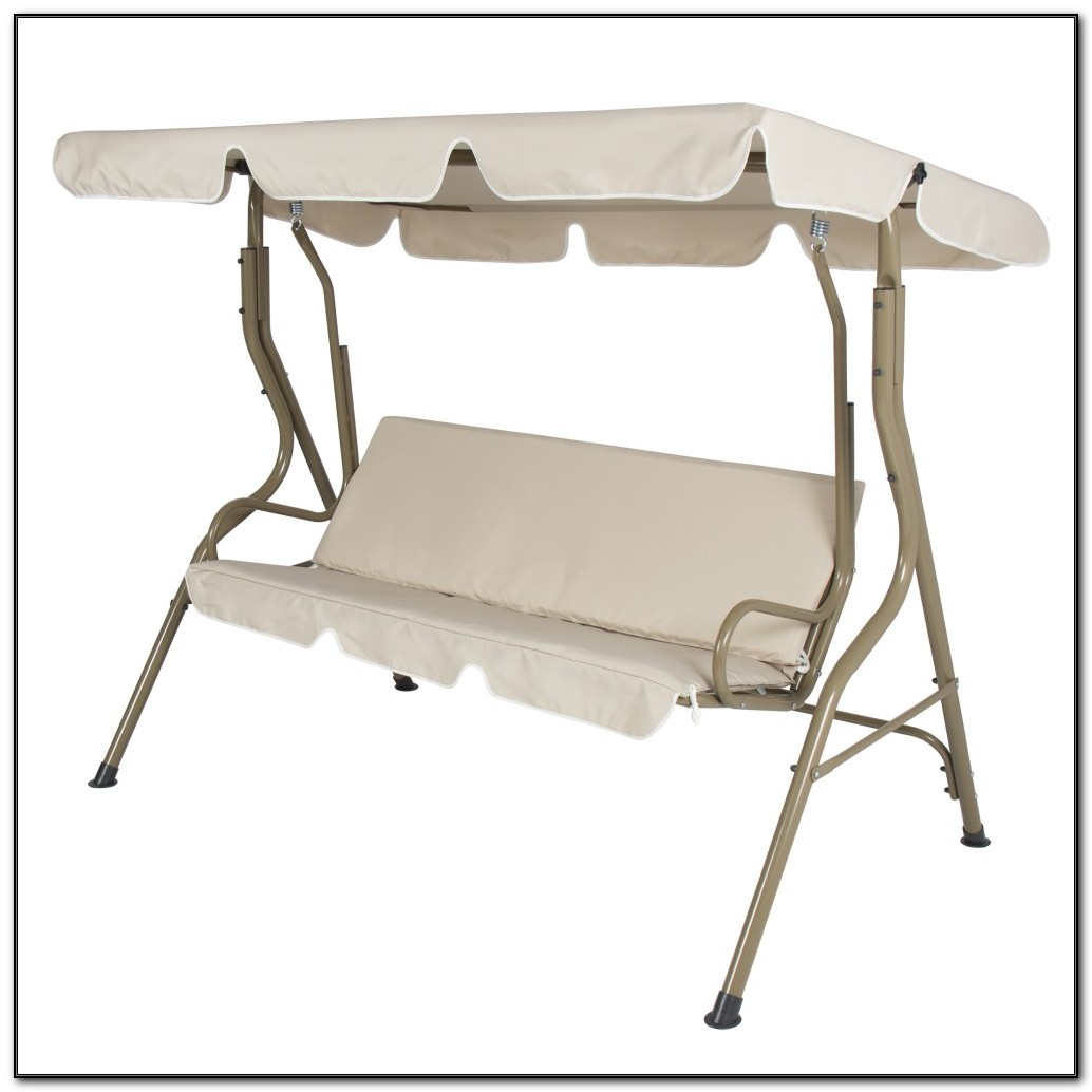 2 Person Canopy Porch Swing