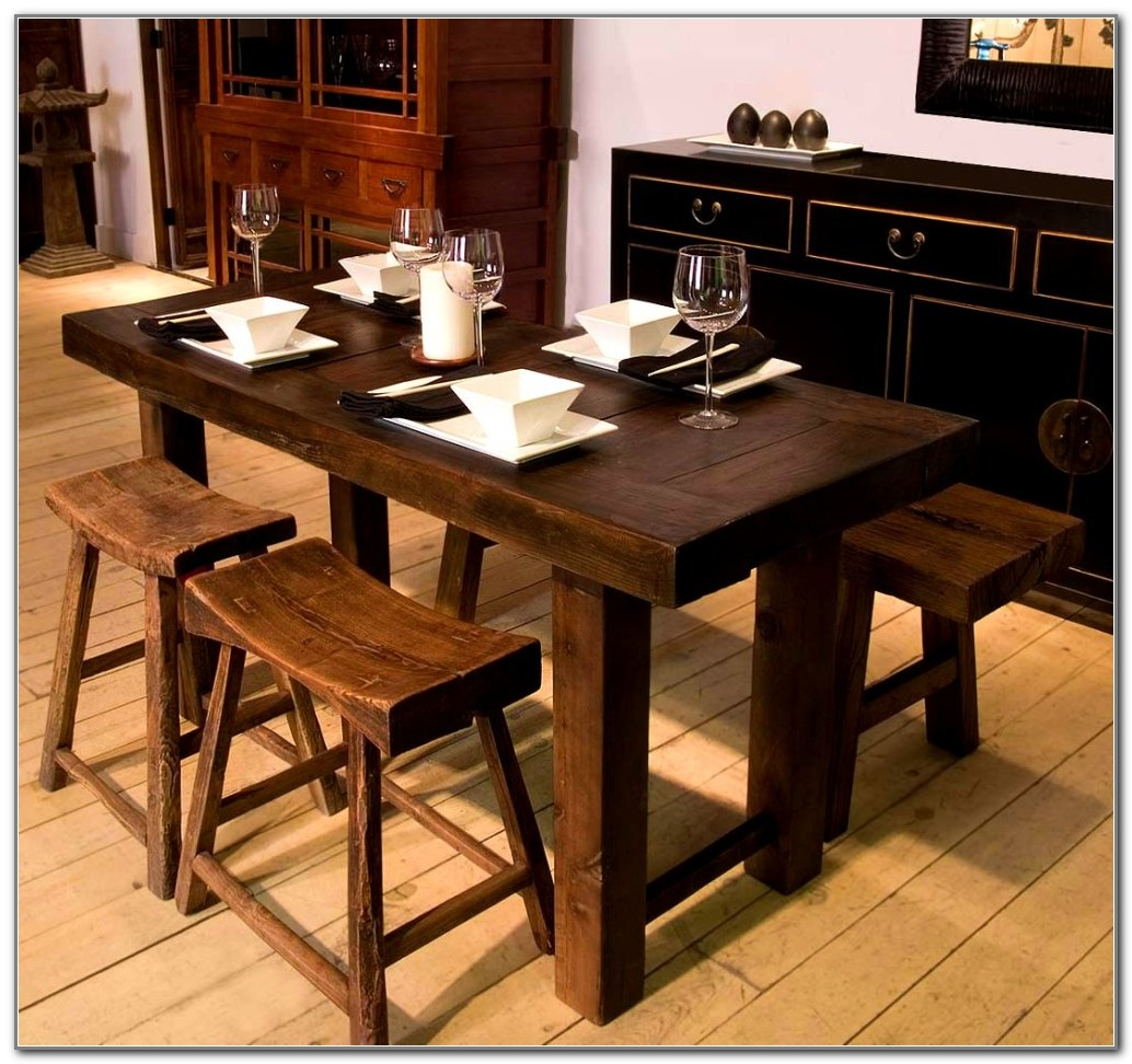 Amish Kitchen Tables With Benches