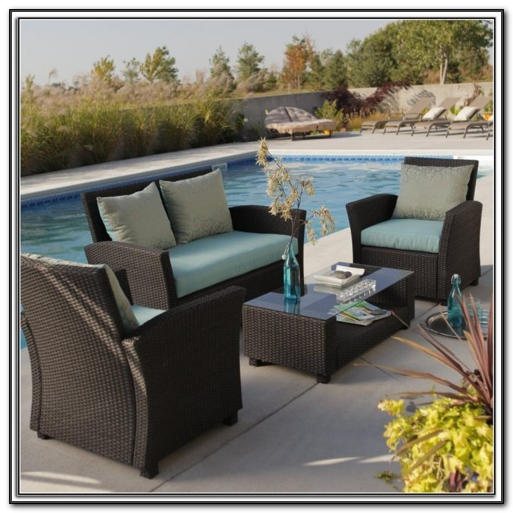 Belmont Brown Wicker Patio Furniture
