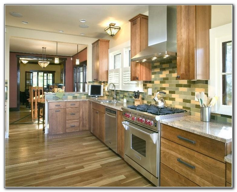 Best Flooring For A Small Kitchen