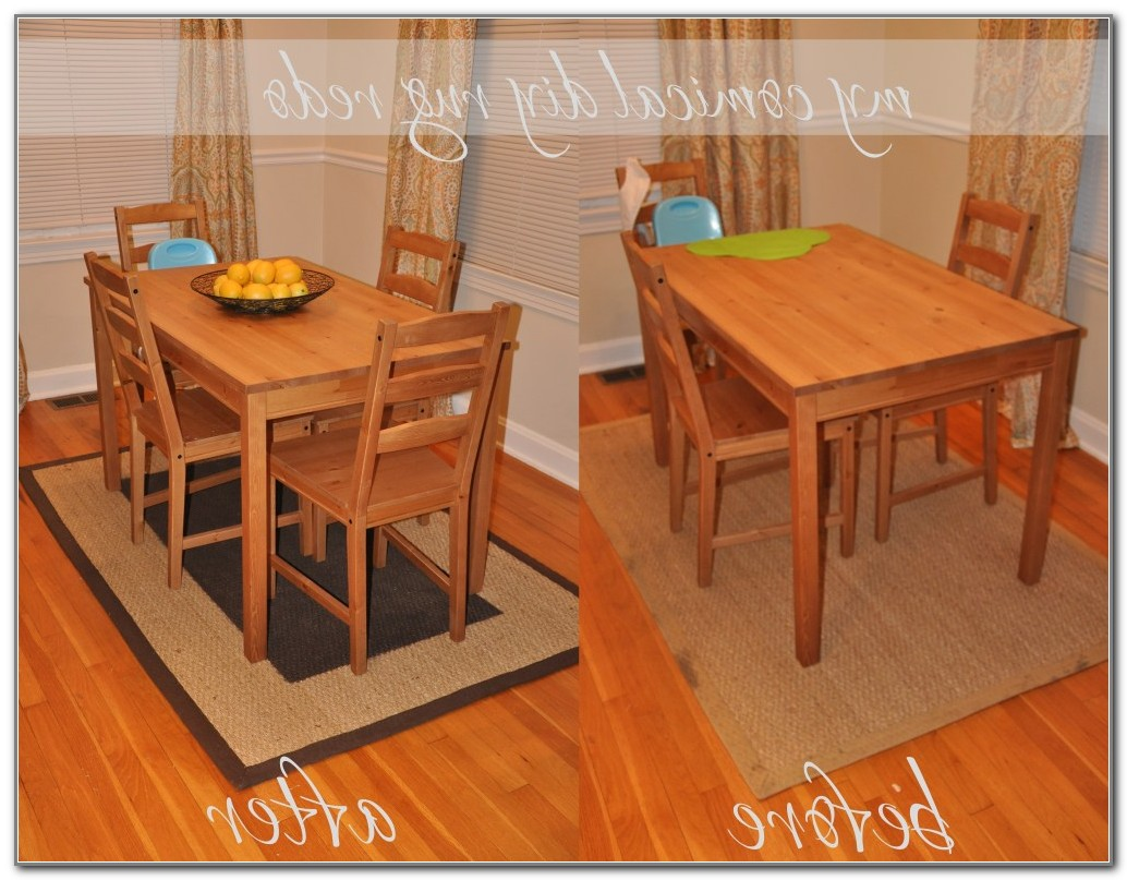Best Rug For Kitchen Table