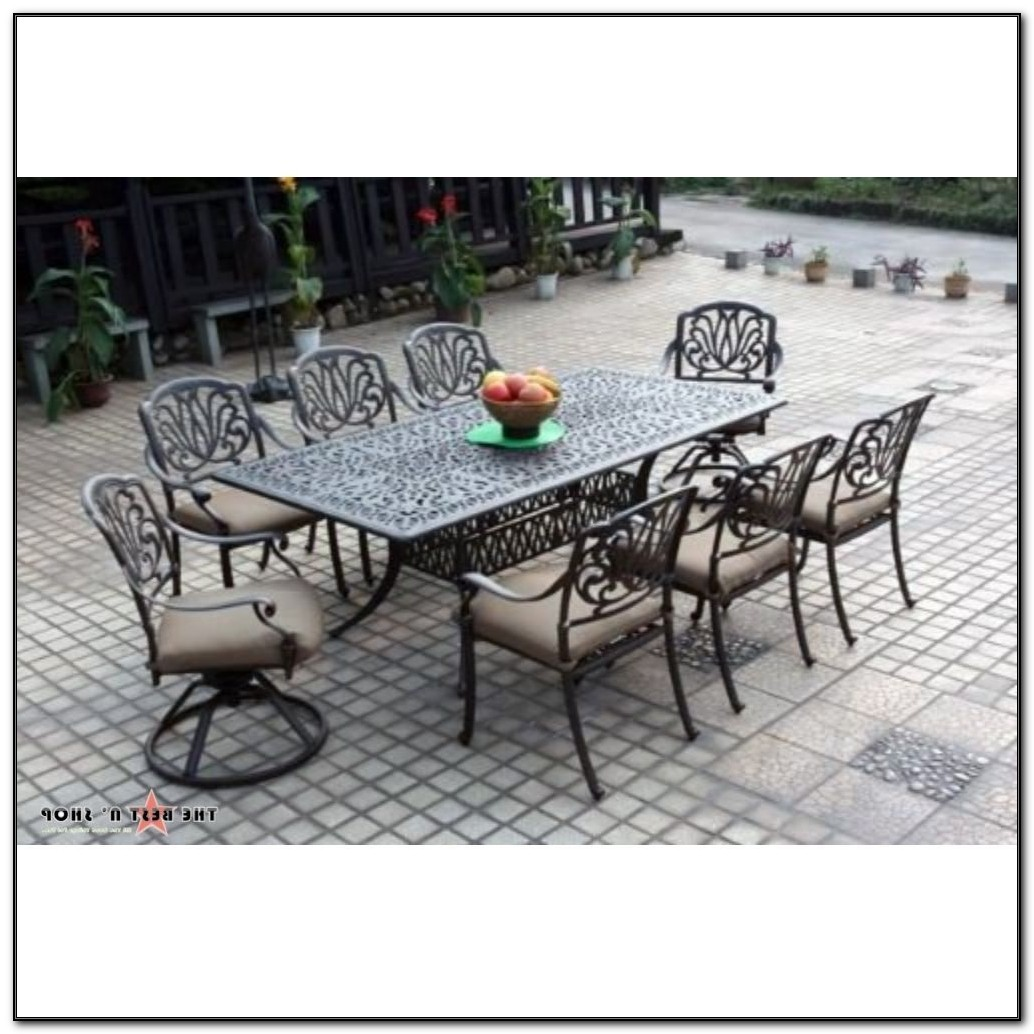 Cast Aluminum Patio Chair Cushions