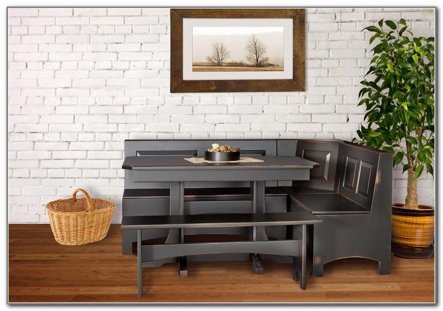 Corner Kitchen Table With Storage Bench