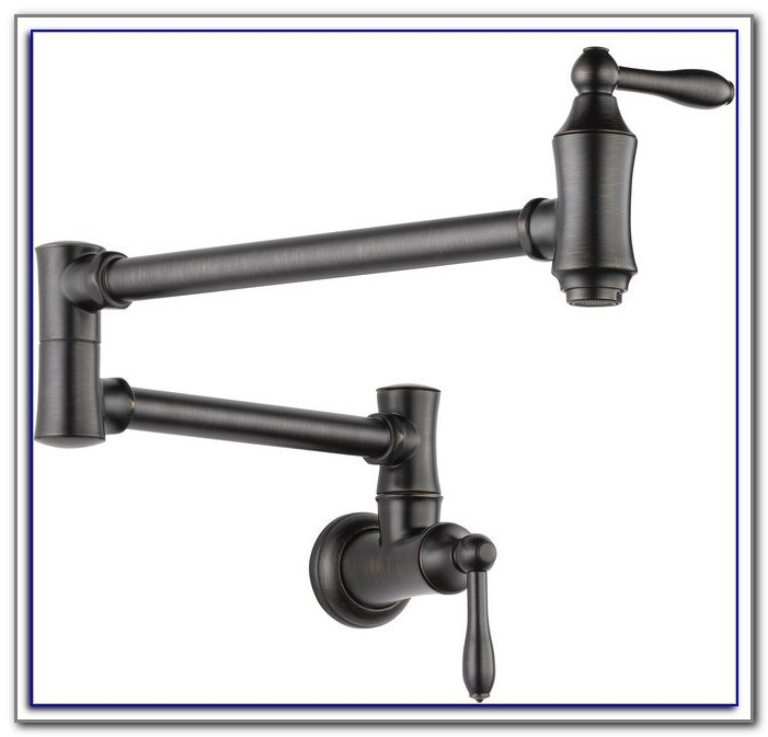 Delta Wall Mount Kitchen Faucet Model 200