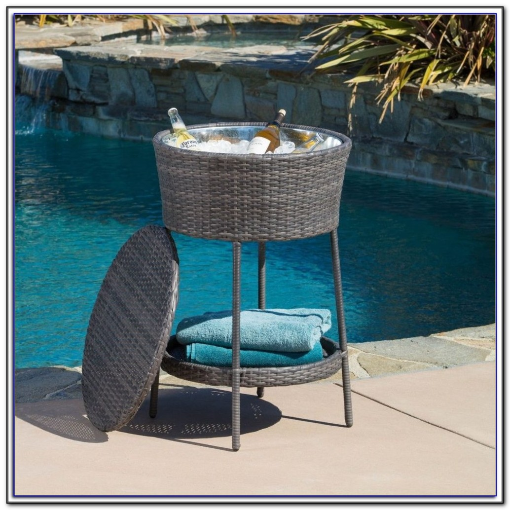 Electric Patio Beverage Cooler