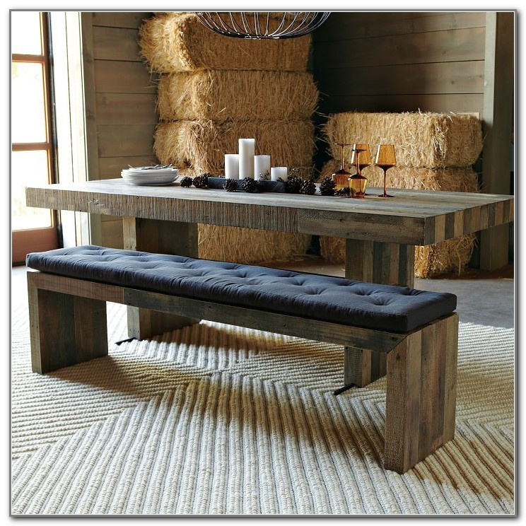 Farmhouse Table Set With Bench