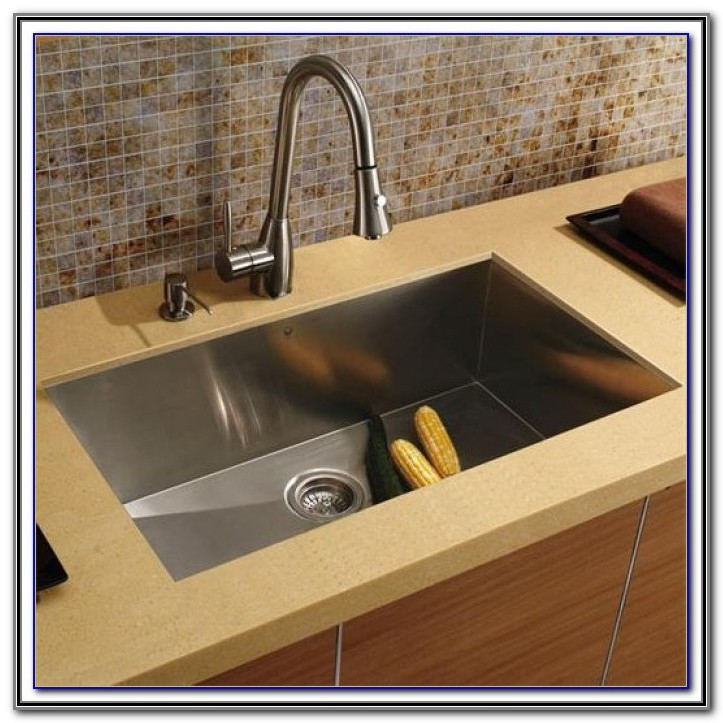 Glacier Bay Kitchen Sink And Faucet Combo