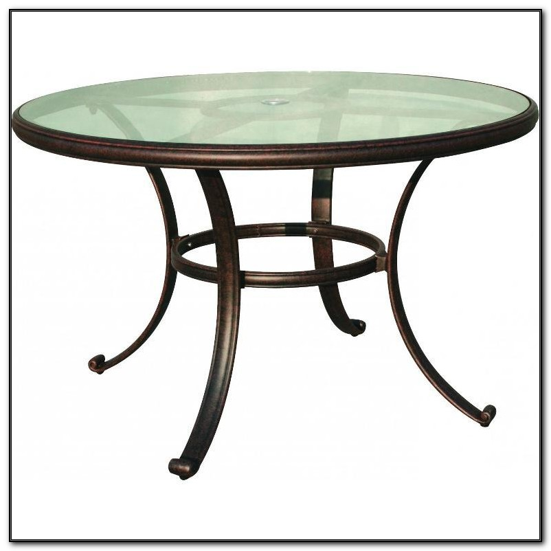 Glass Top Patio Table Replacement