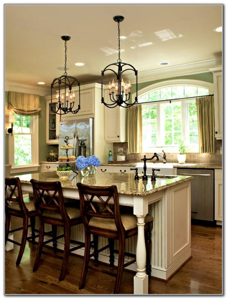 Hanging Lights Over Kitchen Table