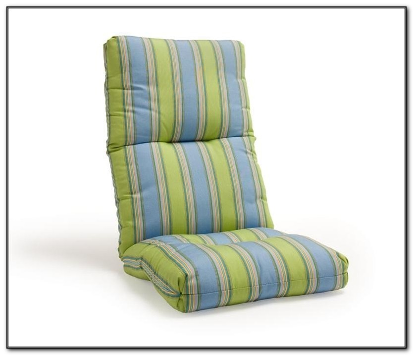 High Back Patio Chair Replacement Cushions