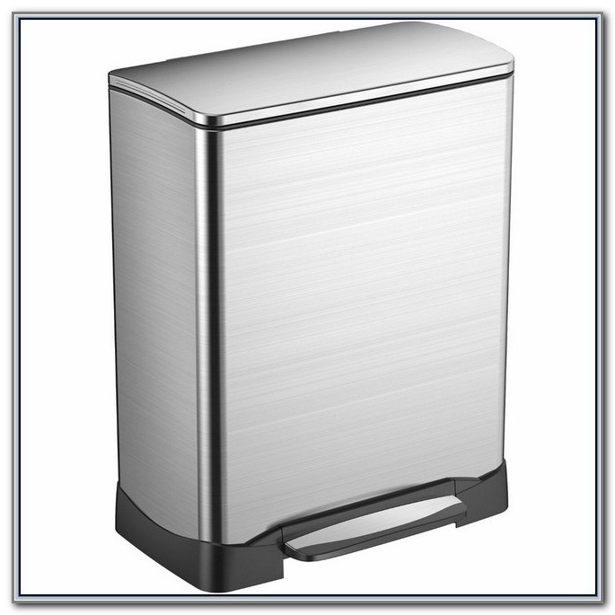 Home Depot Stainless Steel Kitchen Trash Can