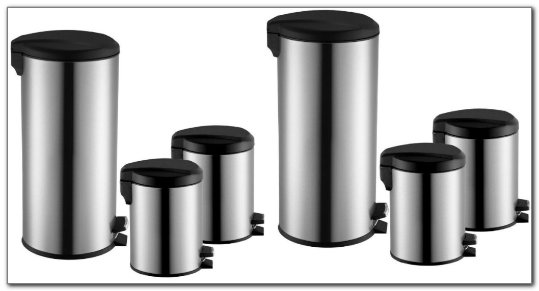 Home Depot Stainless Steel Trash Cans